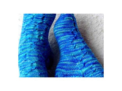 Candy Wrappers Sock Pattern