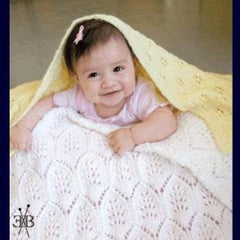 Fiber Trends Light & Lacy Baby Blankets (CH48)