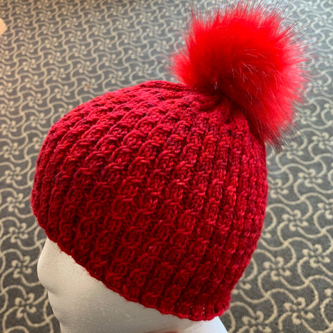 Red Vines Hat Pattern