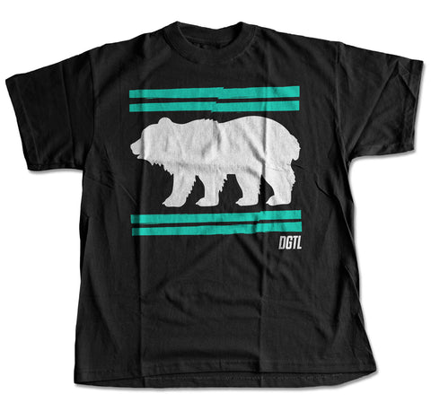 Digital Bear Flag T-Shirt
