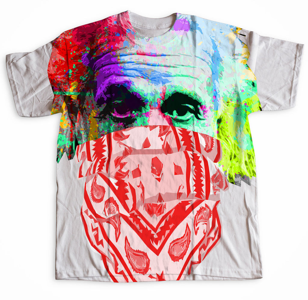 Einstein All-Over T-Shirt