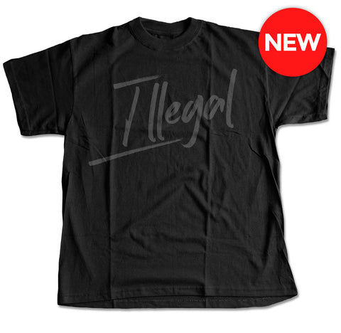'Illegal' Lettering T-Shirt