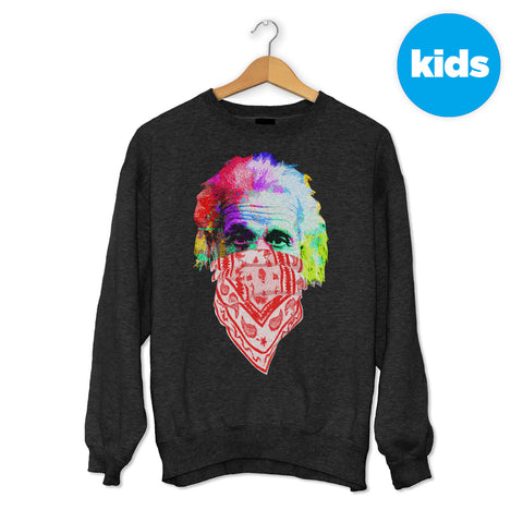 Albert Einstein Bandana Sweater