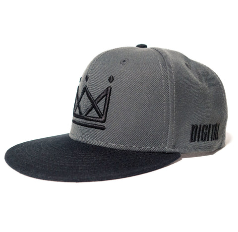 Digital Crown [Grey] Snapback
