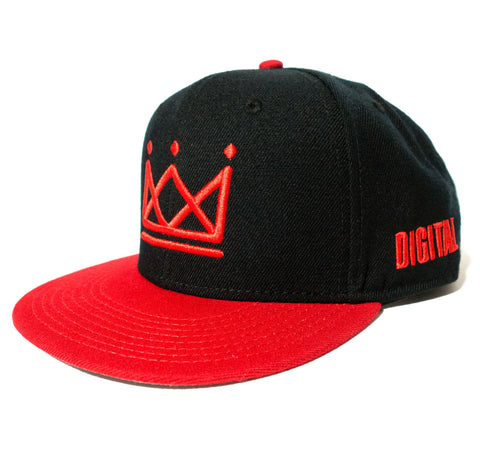Digital Crown [Red] Snapback
