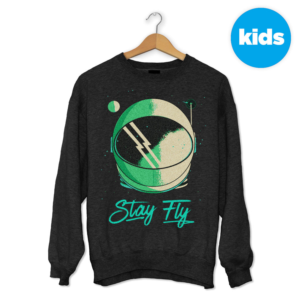 Stay Fly Astronaut's Helmet Sweater
