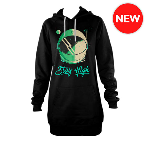 Stay High Hoodie Dress