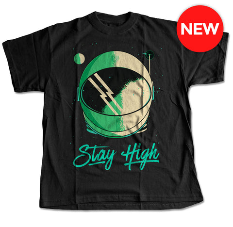 Stay High Astronaut's Helmet T-Shirt