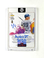 Aaron Judge - DARK BLUE AUTO 1/1 by Blake Jamieson