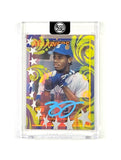 Ken Griffey - Light Blue AUTO 1/1 by Blake Jamieson