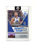 Steph Curry - DARK BLUE AUTO 1/1 by Blake Jamieson