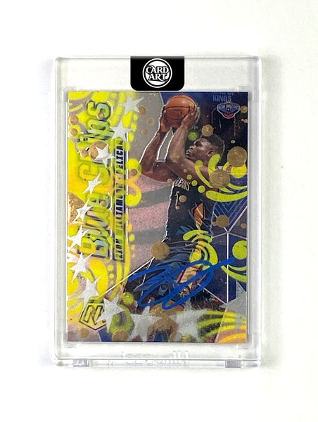 Zion Williamson - DARK BLUE AUTO 1/1 by Blake Jamieson