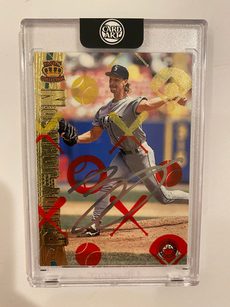 Randy Johnson - Silver Chrome AUTO 1/1 by Blake Jamieson