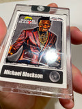 Michael Blackson - Signed 1/1 CardArt - By Hollywu Desai