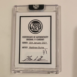 Kris Bryant - Chicago Cubs - 1/1 By Matthew Burke
