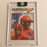 Ozzie Smith - St Louis Cardinals 1/1 By ThirdDanArt