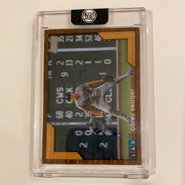 Corey Seager - Los Angeles Dodgers - 1/1 By Matthew Burke