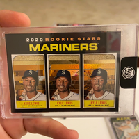 Kyle Lewis - Seattle Mariners 1/1 By ThirdDanArt