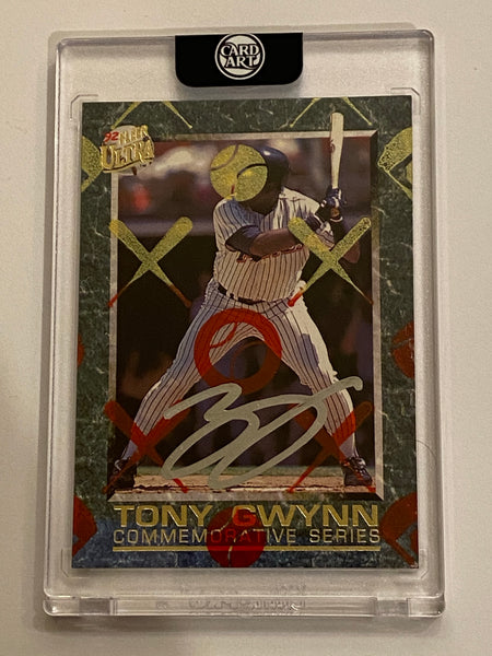 Tony Gwynn - Silver Chrome AUTO 1/1 by Blake Jamieson