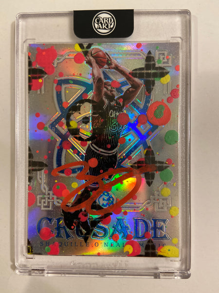 Shaquille O'Neal RED AUTO 1/1 by Blake Jamieson