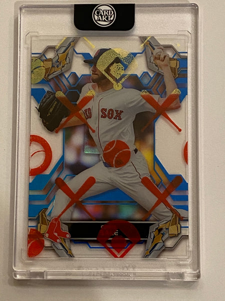 Chris Sale - Silver Chrome AUTO 1/1 by Blake Jamieson