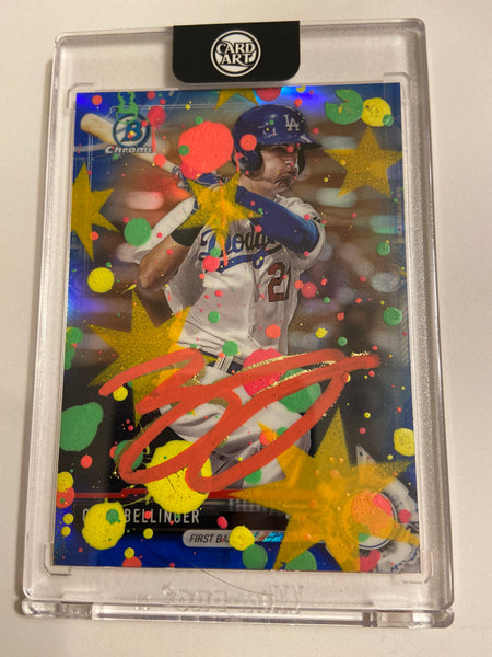 Cody Bellinger - RED AUTO 1/1 by Blake Jamieson
