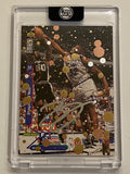 Shaquille O'Neal- Silver Chrome AUTO 1/1 by Blake Jamieson