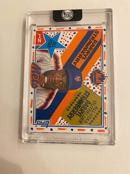 Darryl Strawberry 1/1 CardArt by Mister Shake