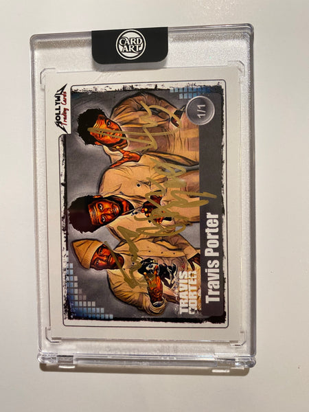 Travis Porter - Signed 1/1 CardArt - By Hollywu Desai