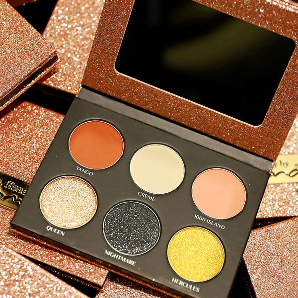 THE HOLIDAY - ROSE GOLD EYESHADOW PALETTE