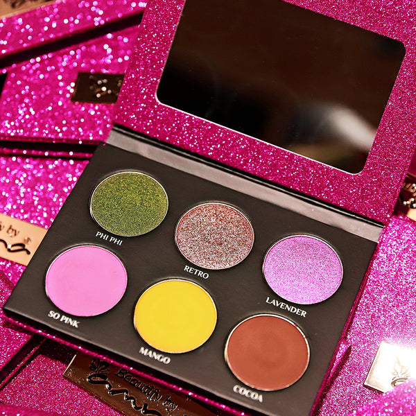 THE HOLIDAY - PINK EYESHADOW PALETTE