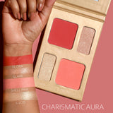 Charismatic Aura - BLUSH & HIGHLIGHTER PALETTE