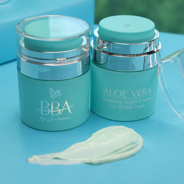 ALOE VERA - SOOTHING NIGHT CREAM (for all skin type)