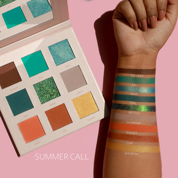 Summer Call Eye Shadow Palette