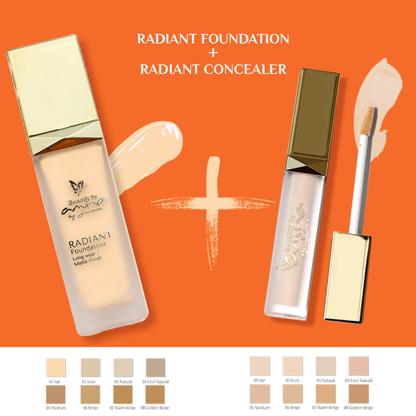 DUO DEAL - Radiant Matte Foundation + Radiant Concealer