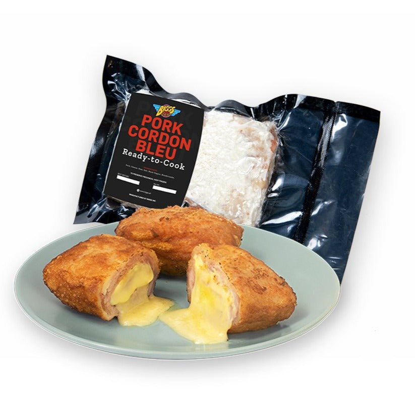 BIGGS Pork Cordon Bleu (2 pcs, approx 300g)