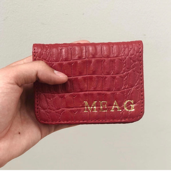 Tarjetero doble pocket