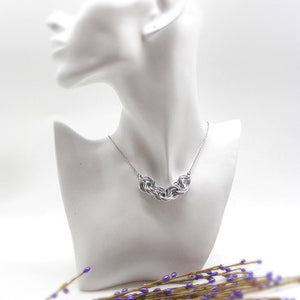 Love Knots Chainmaille Necklace