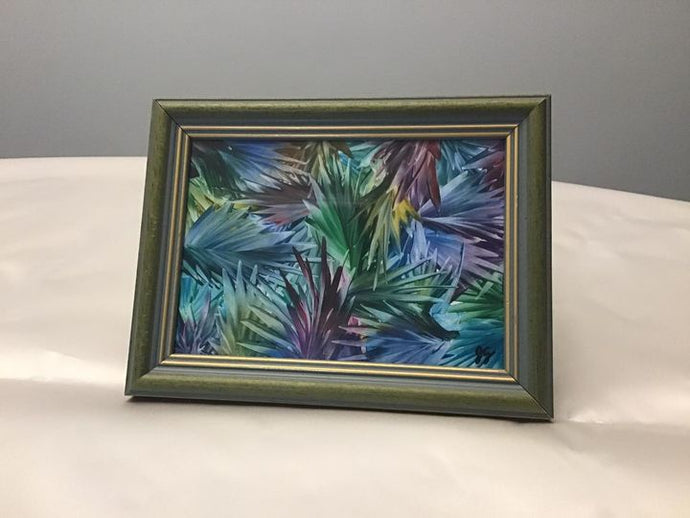 Wax Painting - Framed