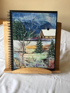 Wax Painted Journals