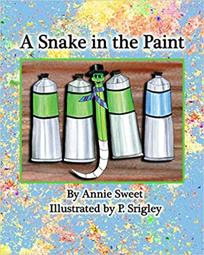 A Snake in the Paint (Children's Book)