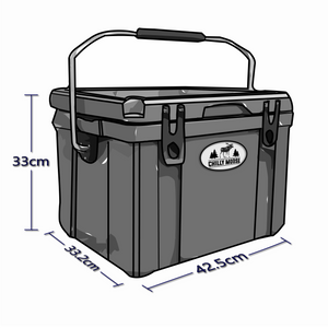 Chilly Moose® 25 LTR Chilly Ice Box Cooler