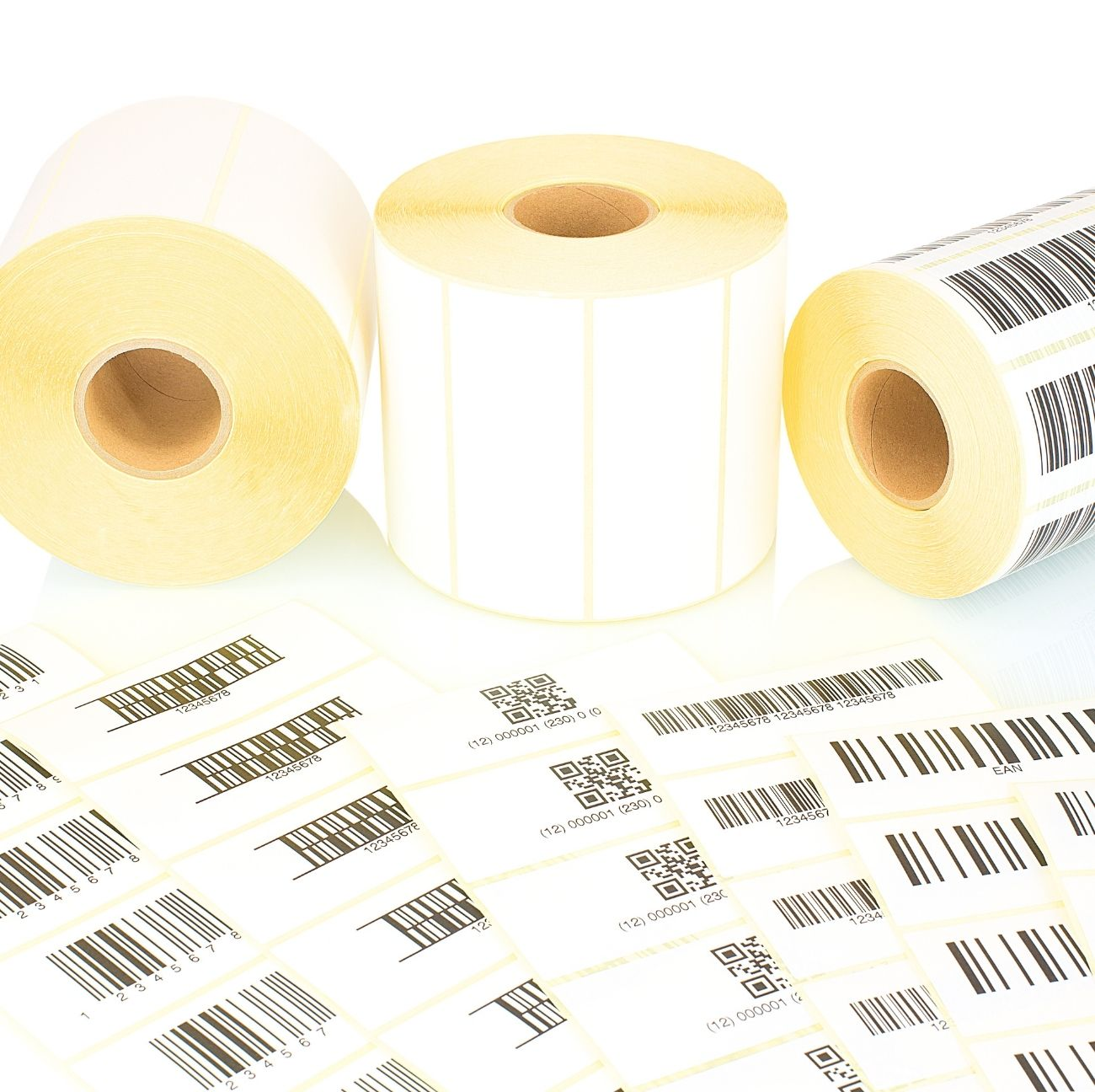 80 mm x 120 mm Labels