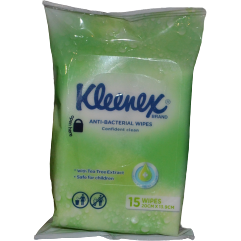 Kleenex Anti-bacterial Wipes