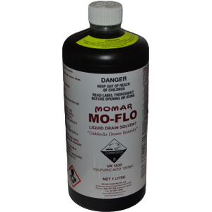 Momar Mo-Flo Liquid Drain Solvent - 1L (pickup in store only)
