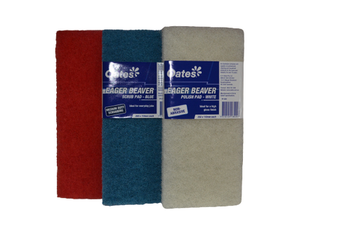 Oates Eager Beaver - Polish Pad Red- 250 x 110ml