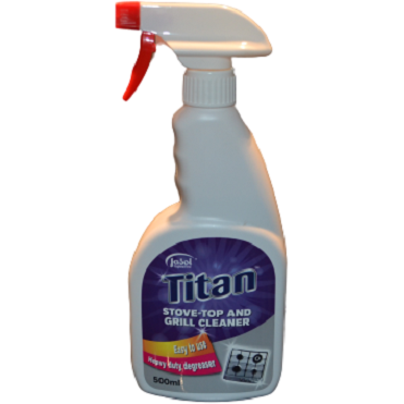 Titan Stove Top & Grill Cleaner - 500ml