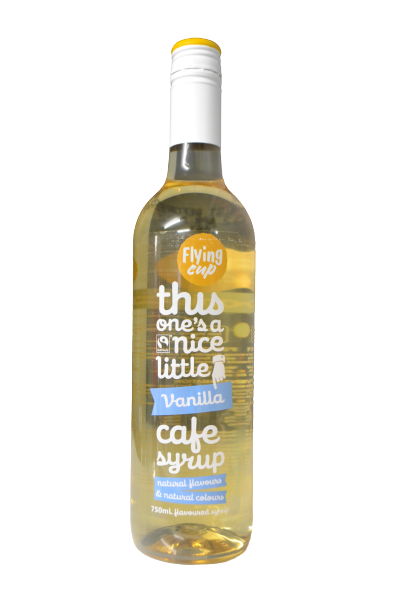 Flying Cup Cafe Syrup - Vanilla - 750ml