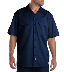 Dickies Short Sleeve Work Shirt Sz S-3X (4 Colors)