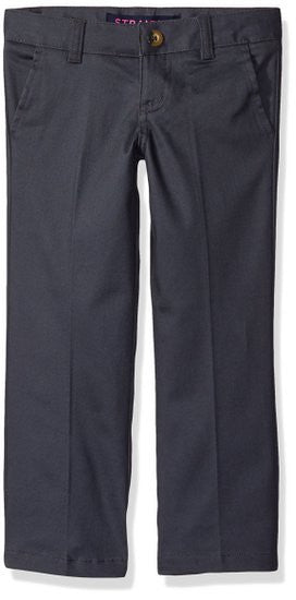 Straight Leg Twill Pant Sz 4-20 (3 Colors)